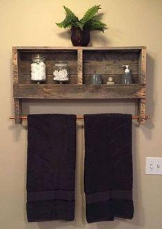 Rustic farmhouse bathroom remodel ideas (71)