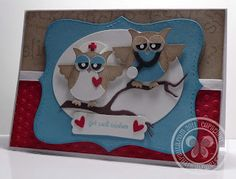Stampin with Paula: Get Well Owls