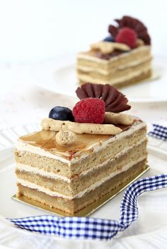 Coffee layer cake, yummm!