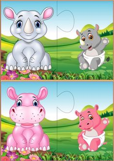 Mother and baby animals matching puzzle activities for toddlers Preschool Classroom Decor, Preschool Learning Activities, Animal Activities, Fun Activities For Kids, Kids Learning, Fun Worksheets For Kids, Animal Worksheets, Puzzles For Kids, Mother And Baby Animals