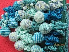 Deze inktvisjes zijn gemaakt  door Gisele Stevens.