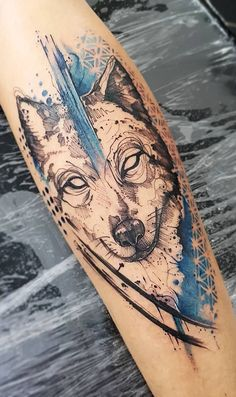 Wolf Tattoos Men, Forarm Tattoos, Badass Tattoos, Body Art Tattoos, Tattoos For Guys, Creative Tattoos, Unique Tattoos, Beautiful Tattoos, Lupus Tattoo