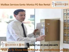 Want a PO Box for rental purposes Santa Monica PO Box Rental is a well known Mailbox Service providers. We also offer some special promotions. Our services contain 24-hour Mail Accessibility 24-hour Package Locker Call-in Mail Check and many more. So get in touch with us to know more about us:  http://smmailboxes.com/