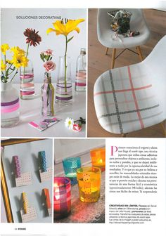 Washi Tape House Decorating / Decora tu Casa  (ventas@washitapemexico.com for the tapes)