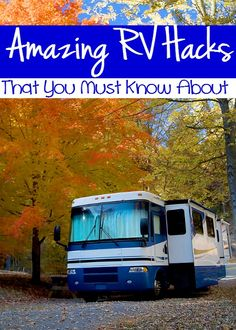 Life Saving RV Camping Hacks That You Must Know About - These hacks will make your life easier and save you time!