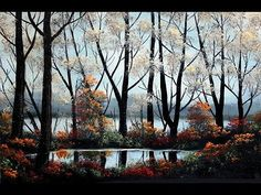#82* / Grey Autumn Day (8x10) / Small Oil Painting - YouTube