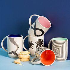 Jones & Co | Have You Met Miss Jones | Homewares, Handmade Interiors Mermaid Tails, Earthenware, Palm Trees, Interiors, Tableware, Handmade, Shopping, Instagram, Palm Plants
