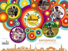 AWESOMENESS BOOT CAMP FOR KIDS AT PEDALERS VILLAGE, GURGAON.