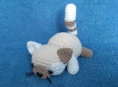 Ravelry: Chubby the Cat, free crochet pattern by Stefanie Laabs, amigurumi, stuffed toy, #haken, gratis patroon (Engels), kat, knuffel, speelgoed, #haakpatroon