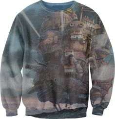Howl's Moving Castle. WANT