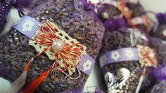 Mărțişoare parfumate~Săculeți cu lavandă~Lavender sachets
