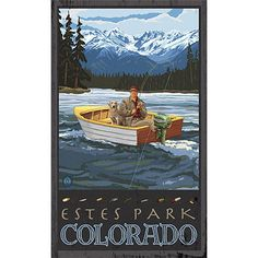Personalized Estes Park Colorado Wood Sign