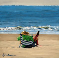 """A Painting Today: """"Ocean"""""""