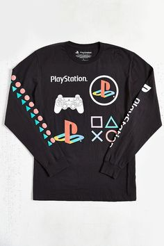Sony PlayStation Long-Sleeve Tee - Urban Outfitters