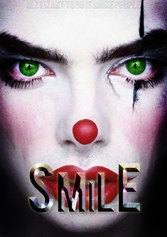 is for my current drama Called smile in early stagesThis is for my current drama Called smile in early stages Clown Film, Drama, Books For Teens, Vmin, Halloween Face Makeup, Bts, Horror Films, Dramas