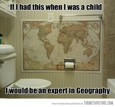 Best way to learn Geography…