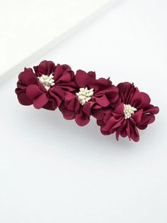 To find out about the Winered Artificial Flower Women Big Hairpins Accessories at SHEIN, part of our latest Hair Accessories ready to shop online today! Artificial Flower Arrangements, Artificial Flowers, Fake Flowers, Nail Accessories, Wedding Accessories, Women Accessories, Latest Hairstyles, Wedding Hairstyles, Hair Grips