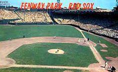 Fenway Park Postcard