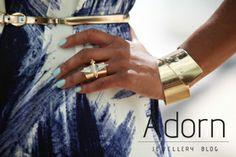 #JewelleryTrends #JewelryTrends #jewelleryoftheday #jewelryoftheday #Jewellery #Jewelry #trends #Adorn #AdornLondon #MilanFashionWeek #StreetStyle #belt #ring #bangle #gold #cuff #diamond