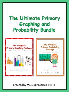 This bundle contains The Ultimate Primary Graphing Package and The Ultimate Primary Probability Package (both sold separately on TpT). If you buy them together in this bundle, you can save $1!  They contain worksheets, posters, word wall words, a math center, wordsearches, and tests to use in your primary classroom. They are ideal for second grade, but some activities can be used in first and third grades. Check out the preview!