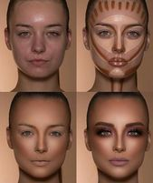Comfy Nose Makeup Ideas That Are Very Inspiring For This Year - Make-Up Techniken New Makeup Ideas, Makeup Hacks, Makeup Tools, Makeup Brushes, Makeup Artists, Makeup Trends, Highlight Contour Makeup, Contouring And Highlighting, Eye Contour