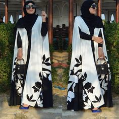 Arab Fashion, Islamic Fashion, Muslim Fashion, Mode Abaya, African Maxi Dresses, Outfit Look, Abaya Designs, Stylish Dresses, Fashion Outfits