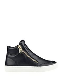 GUESS Womens Josian Black Sneaker 65 M >>> You can find out more details