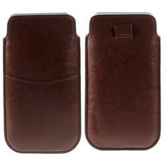 Mesh - iPhone 6 Plus - Sleeve Pouch Cabello Bruin | Shop4Hoesjes.nl