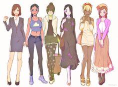 Osomatsu, Karamatsu, Choromatsu, Ichimatsu, Jyushimatsu & Todomatsu - Osoko, Karako, Choroko, Ichiko, Jyushiko & Todoko
