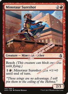 4 x FANATIC OF MOGIS NM mtg Theros Red Minotaur Shaman Unc