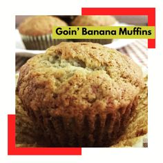 Go bananas for these muffins.  Get more recipes with our FREE eCookbook. KidsBakingClub.com/ebook Ingredients:  1 1/2 cups flour 1 tsp baking soda & baking powder 1 tsp cinnamon 3 large ripe bananas- mashed 1 stick melted butter 2/3 cup brown sugar 1 large egg 1 tsp pure vanilla extract  Line cupcake pan with liners. In one bowl, mix dry ingredients. In another bowl mix the rest. Add flour mixture and stir. Spoon into cupcake liners. Bake in 350 F preheated oven for 20 minutes. Yum!!!
