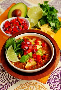 tortilla soup. When autumn follows the long hot Texas summer and the first cool front blows in, I celebrate by making tortilla soup.
