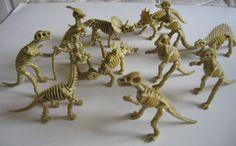 Dinosaur and Prehistoric Animal Skeletons (Individual)
