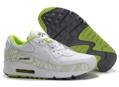 reputable site bab85 b2b45 Heren AIR MAX 90 M083 Wit Groen Grijs  MODELNIKE 00586  - €75.99