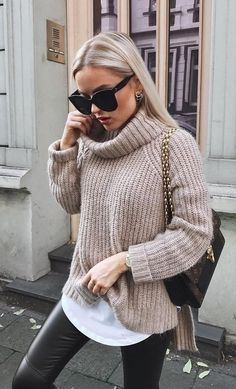 150 Fall Outfits to Shop Now Vol. Page 2 150 Fall Outfits to Shop Now Vol. Page Fall Outfits to Shop Now Vol. Page Fall Outfits to Copy Right Now Vol. 150 Fall Outfits to Shop Now Vol. 2 / 207 Hot Fall/Winter Trend: Flaunt the Rich . Fall Outfits 2018, Winter Fashion Outfits, Mode Outfits, Fall Fashion Trends, Look Fashion, Trendy Outfits, Fashion Ideas, Cheap Fashion, Womens Fashion