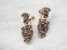 02 - Gorgeous Earrings - Renaissance Style - Crowns