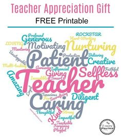 Show each of your gratitude along with thanks token of appreciation ideas that'll really show concern, with this type huge scope there's something that's excellent for someone. Appreciation Message, Teacher Appreciation Gifts, Teacher Gifts, Daycare Gifts, Teacher Cards, Gourmet Gift Baskets, Gourmet Gifts, Staff Motivation, I Love School