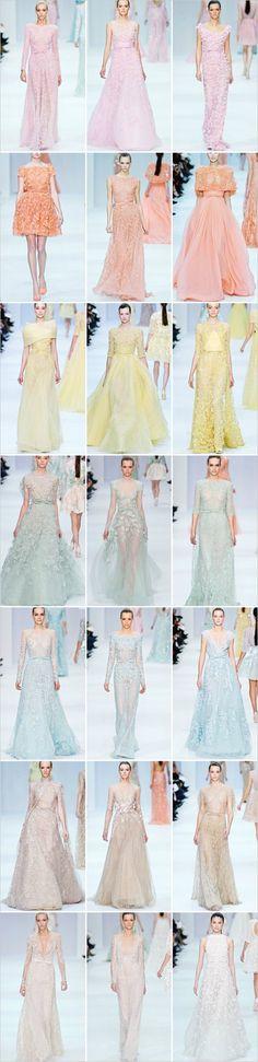 vestidos de Elie Saab, cual escogerían para sus damas de honor?
