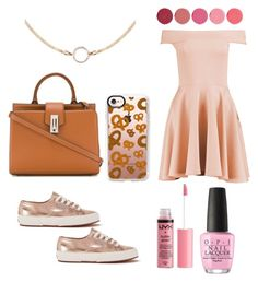 """""""Sin título #67"""" by reginaest on Polyvore featuring moda, Marc Jacobs, Boohoo, Superga, Casetify, Charlotte Russe, OPI y Kjaer Weis"""