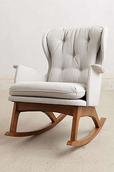Anthropologie rocker... Could I please find this in the nursery when I wake up?