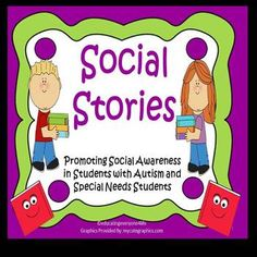 Social Stories and Charts For Visual Learners~ Bundle