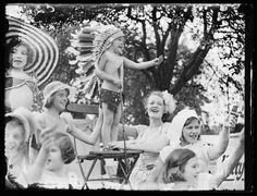 Spend more time with friends and family (Children's garden party, 1933, Edward George Malindine, National Media Museum)