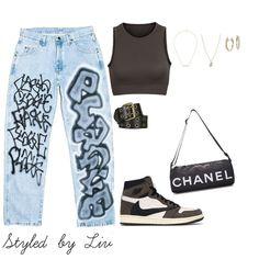 Fashion Tips Jewelry .Fashion Tips Jewelry Tomboy Fashion, Teen Fashion Outfits, Mode Outfits, Retro Outfits, Look Fashion, Streetwear Fashion, Swag Fashion, Fashion Pants, Fashion Fashion