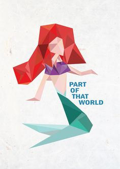 PART OF THAT WORLD. Little mermaid.