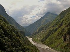 Andes Mountains in Ecuador