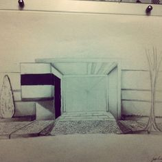 Projeto Pessoal - Guarita #Croqui #architecture #arquitetura #desing