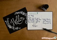 Calligraphy Dipping Pen Flowers: Made By Marzipan
