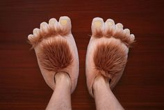 Furry Adventure Slippers 650x436 Daily Gadget Inspiration #17