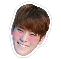 'Jaehyun NCT' Sticker by mietoki Pop Stickers, Wallpaper Stickers, Face Stickers, Tumblr Stickers, Printable Stickers, Jaehyun Nct, Nct Yuta, Nct Johnny, Nct Winwin