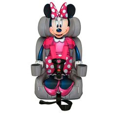 Disney S Minnie Mouse Booster Car Seat By Kidsembrace